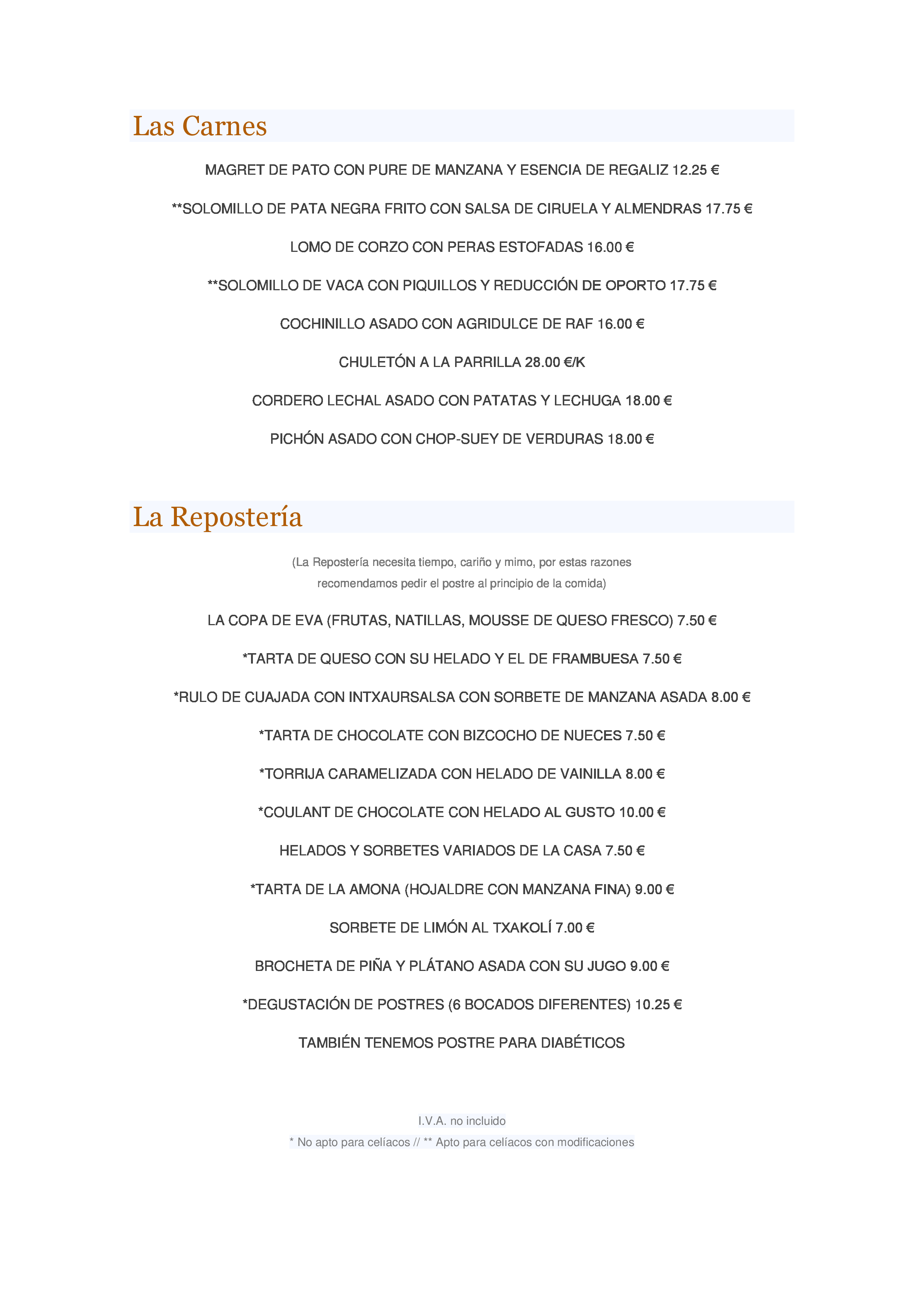 Karlos Arguinano (H. Karlos Arguinano) Carta