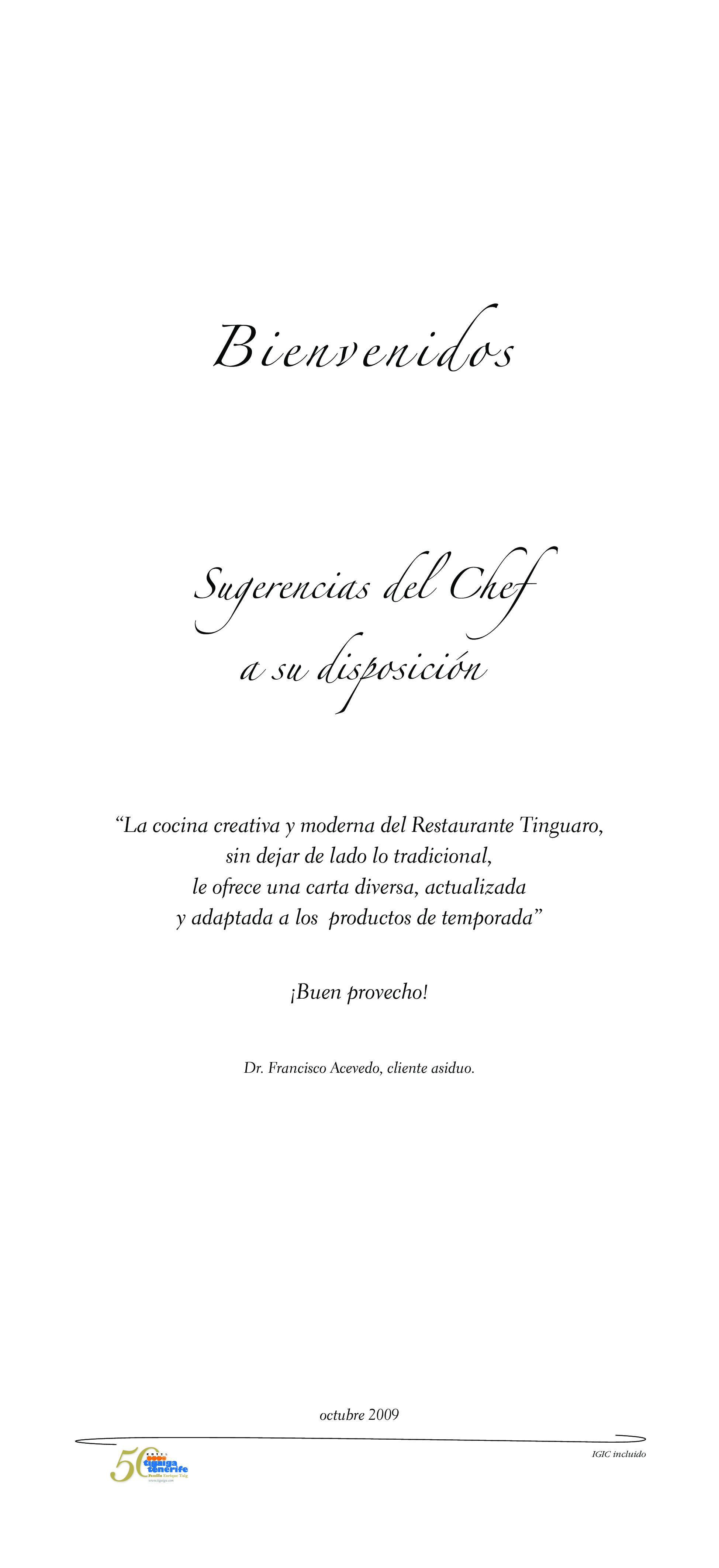 Tinguaro Carta
