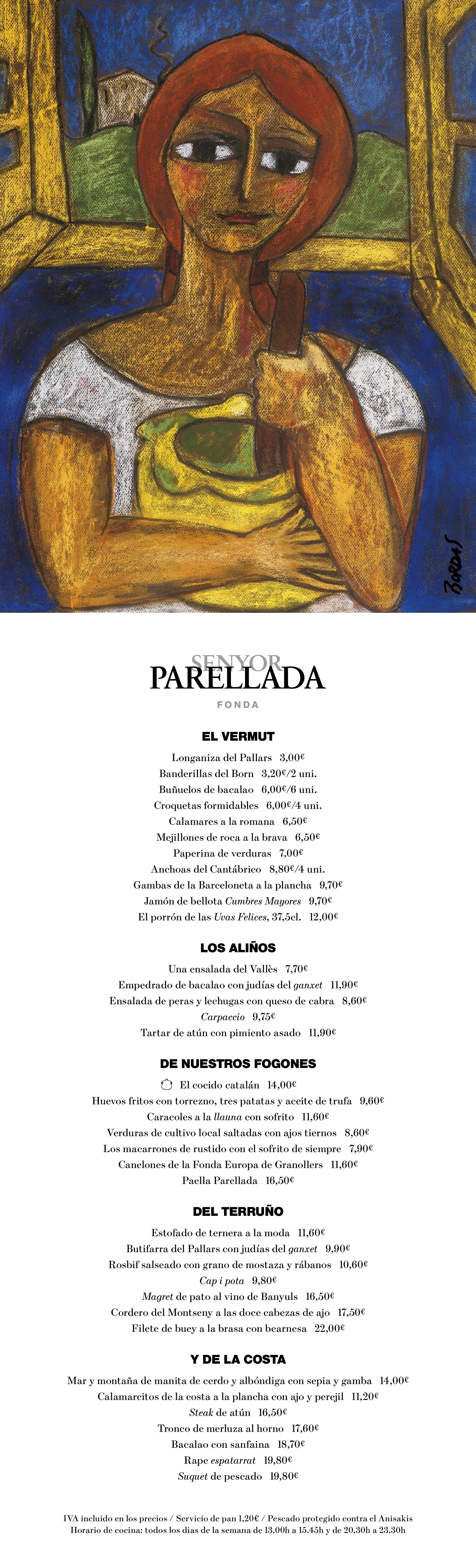 Senyor Parellada Carta