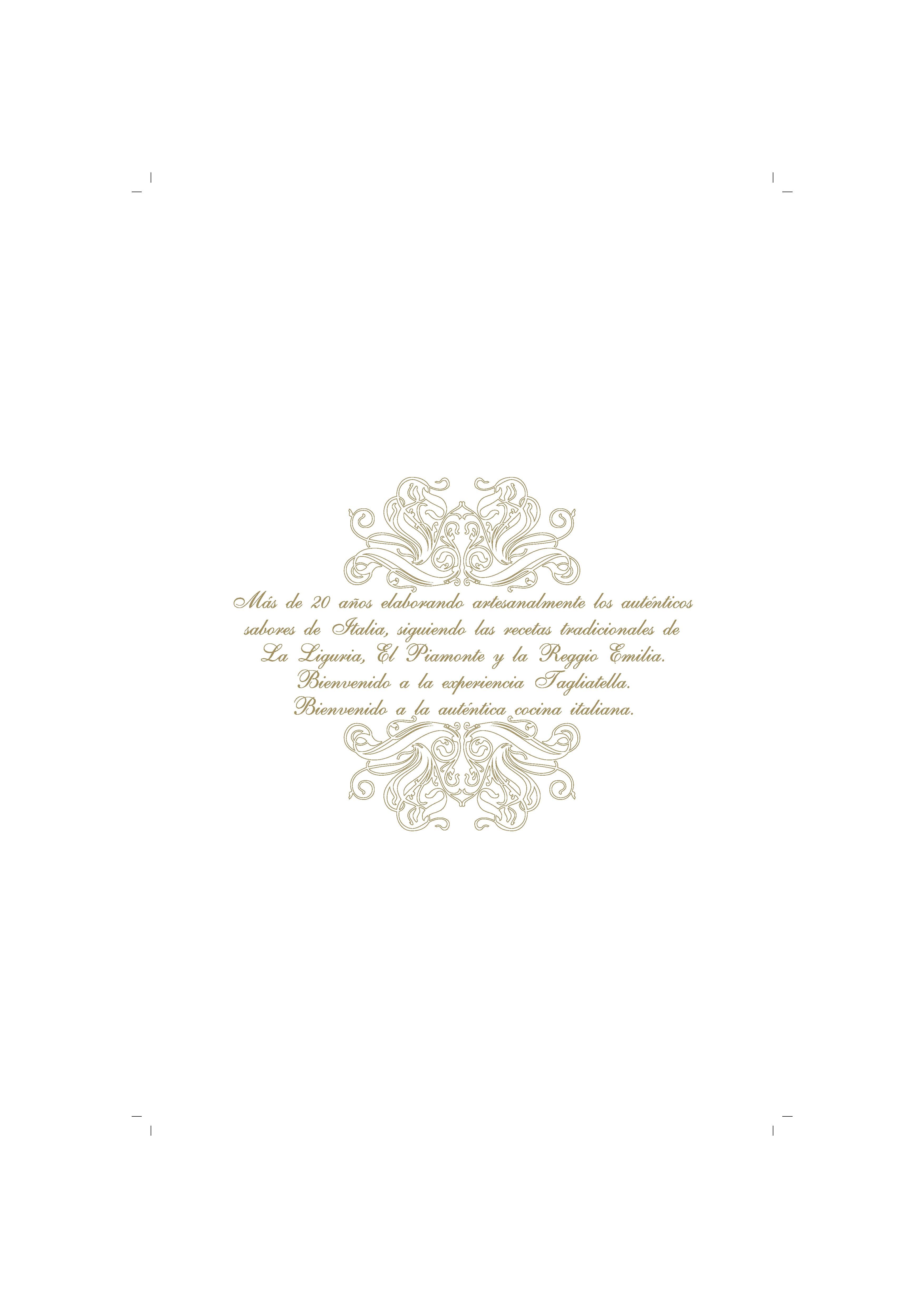 La Tagliatella Alcorcón Carta
