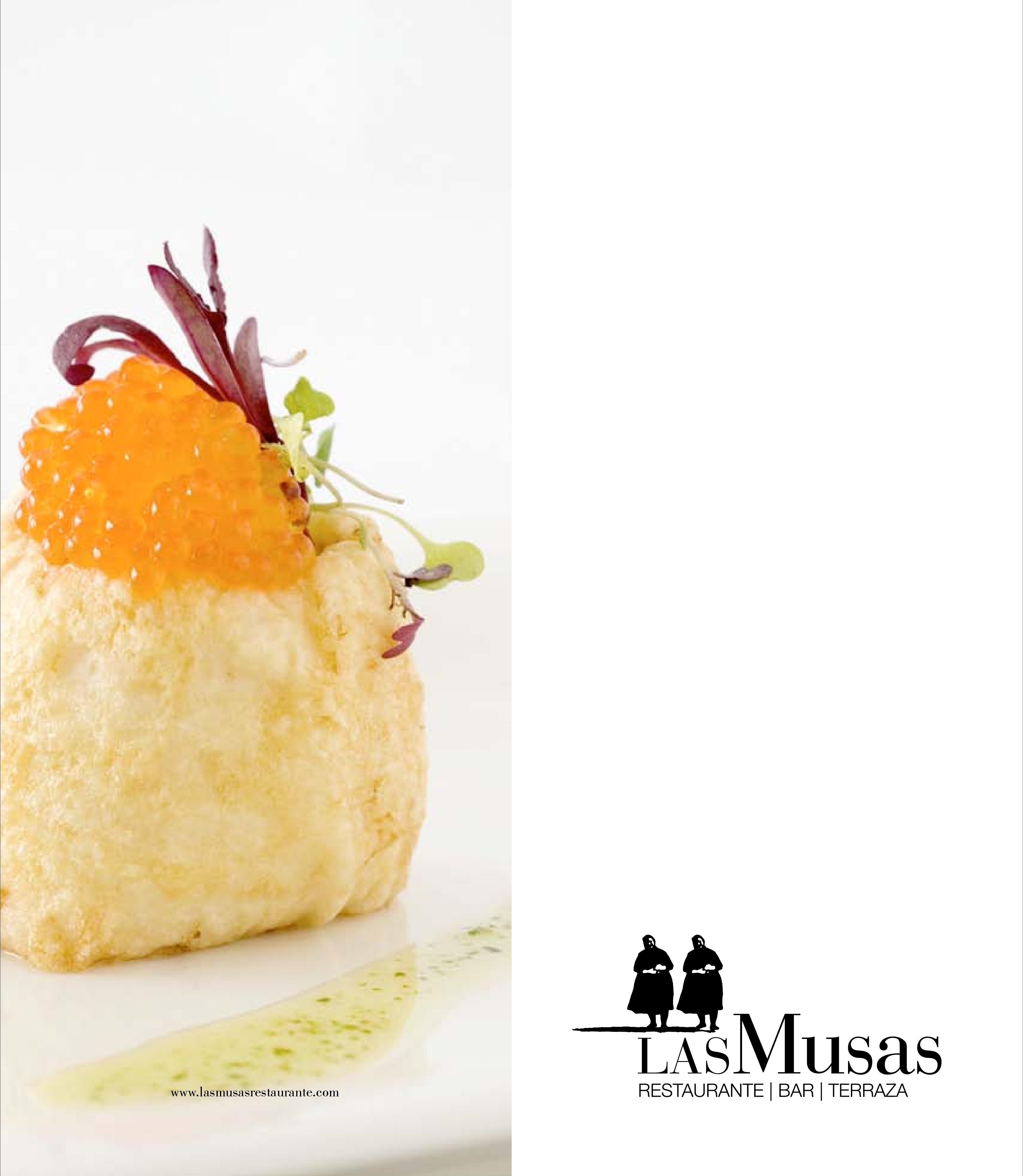 Restaurante Las Musas Carta